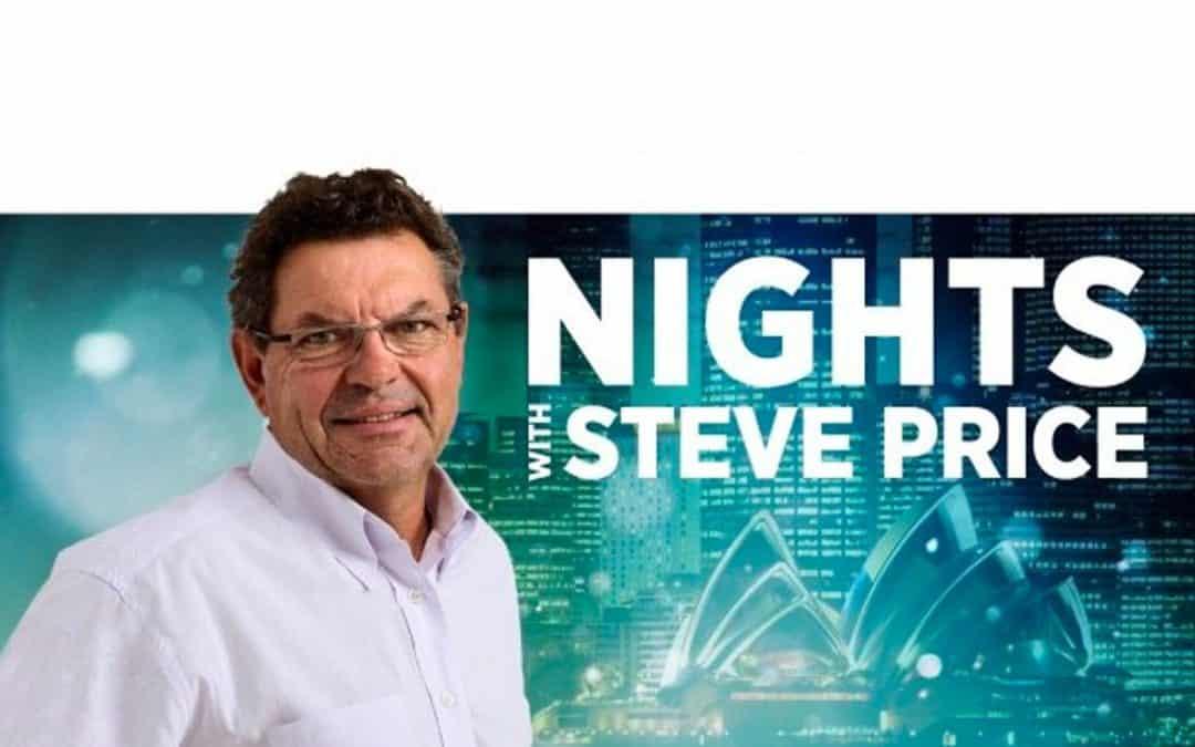 Radio Interview with Steve Price